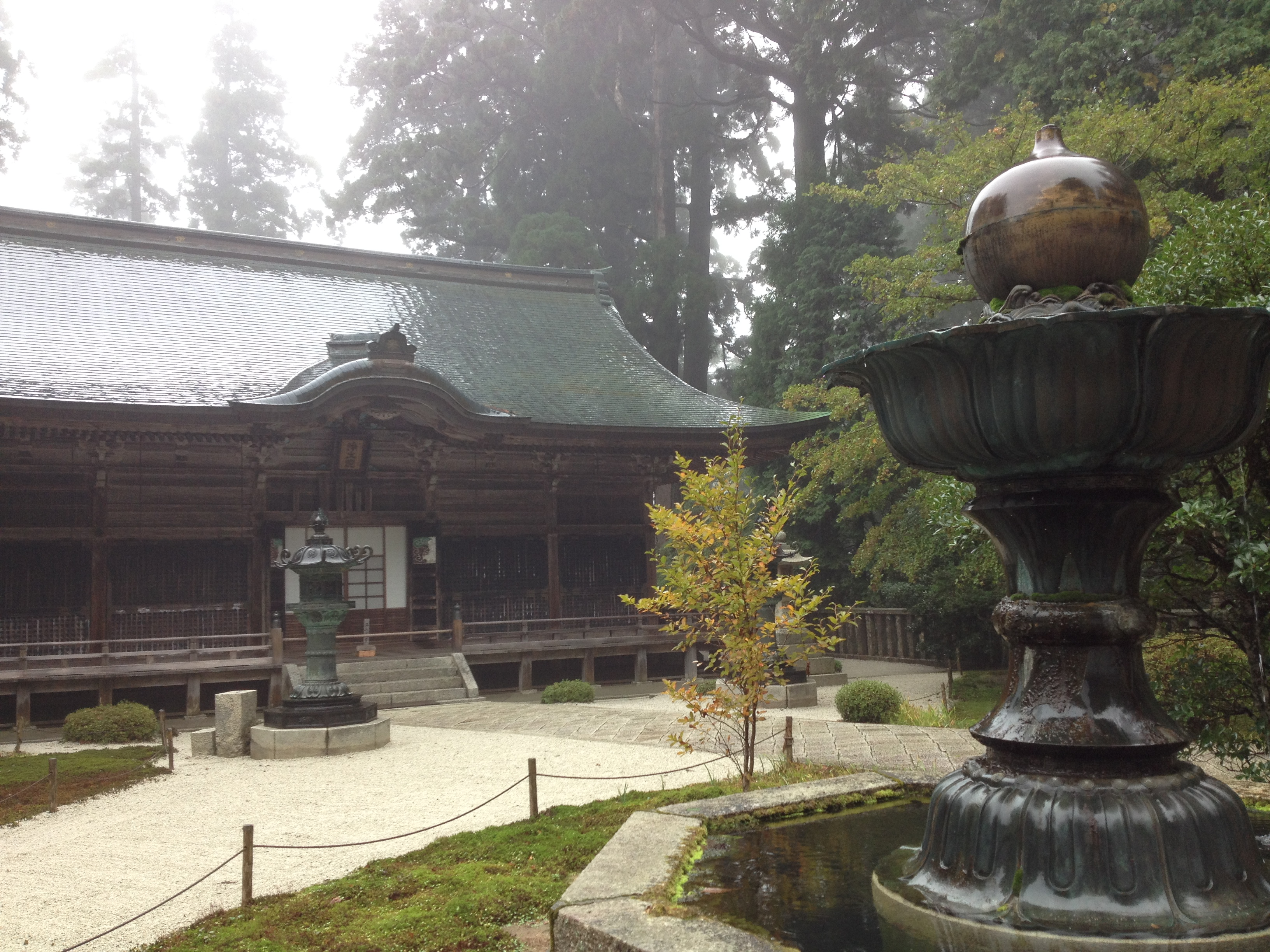 Temple on Mt. Hiei
