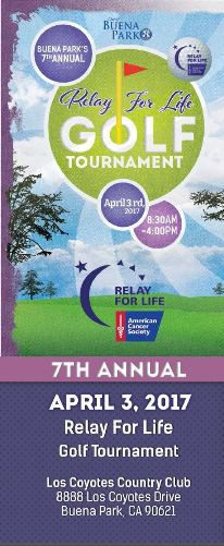 2017 Relay For Life Golf Tourney
