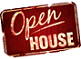 Open House Sign Mini