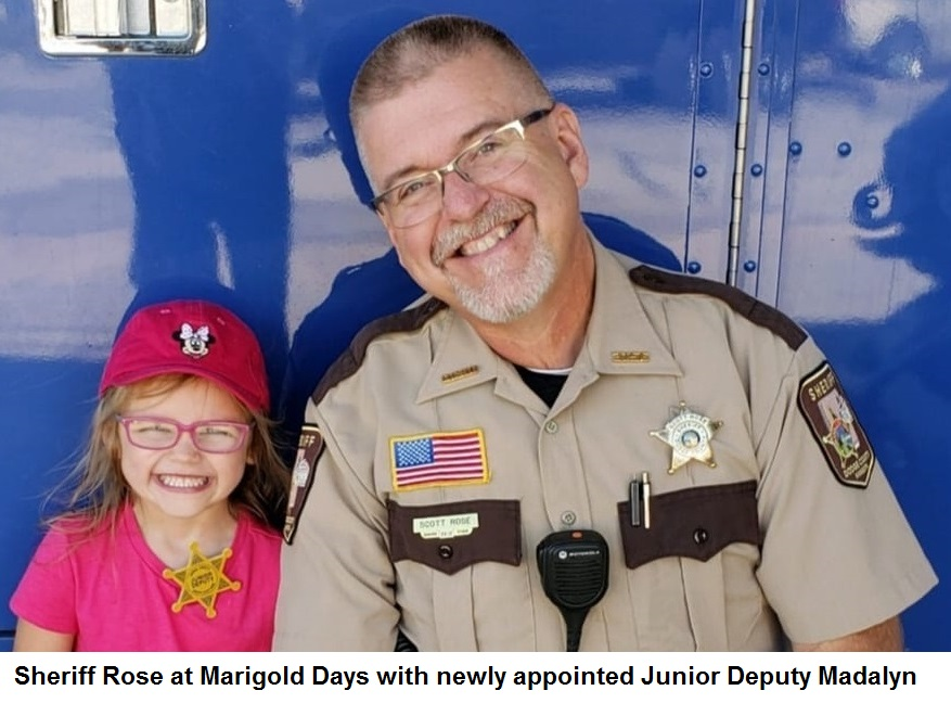 Sheriff Rose and Junior Deputy Madalyn