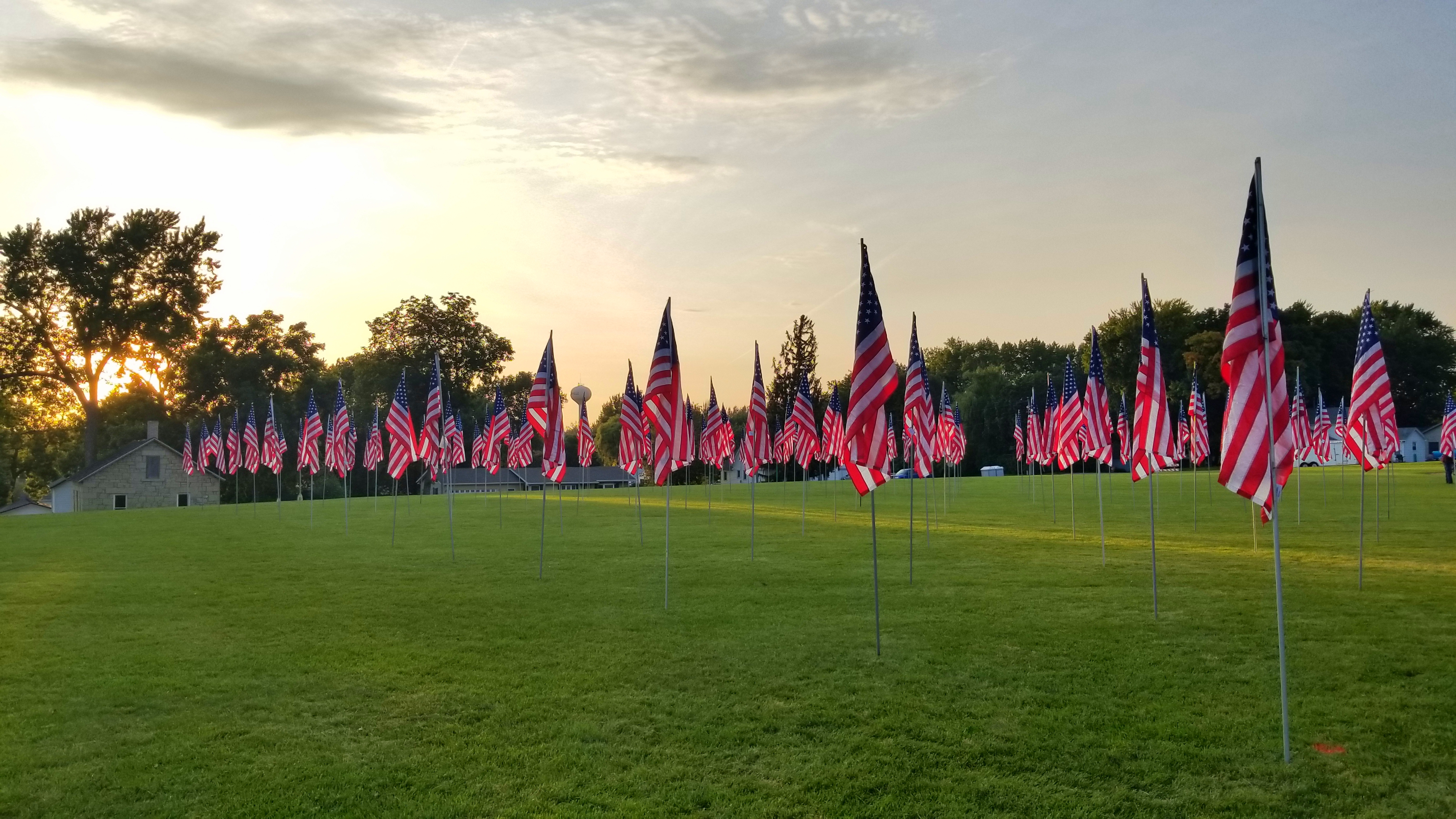 Field of Flags, Mantorville