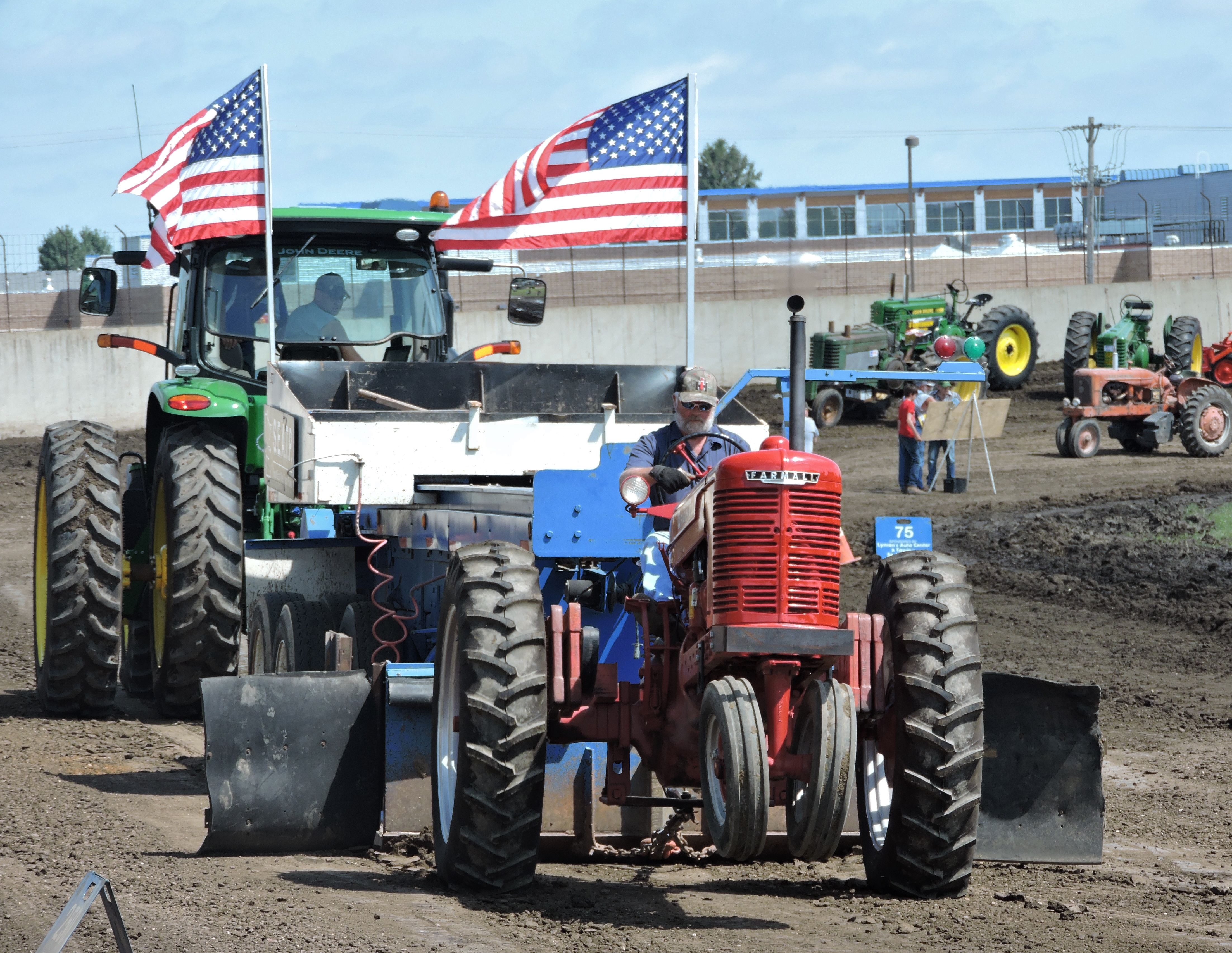 Tractor Pull at Fair