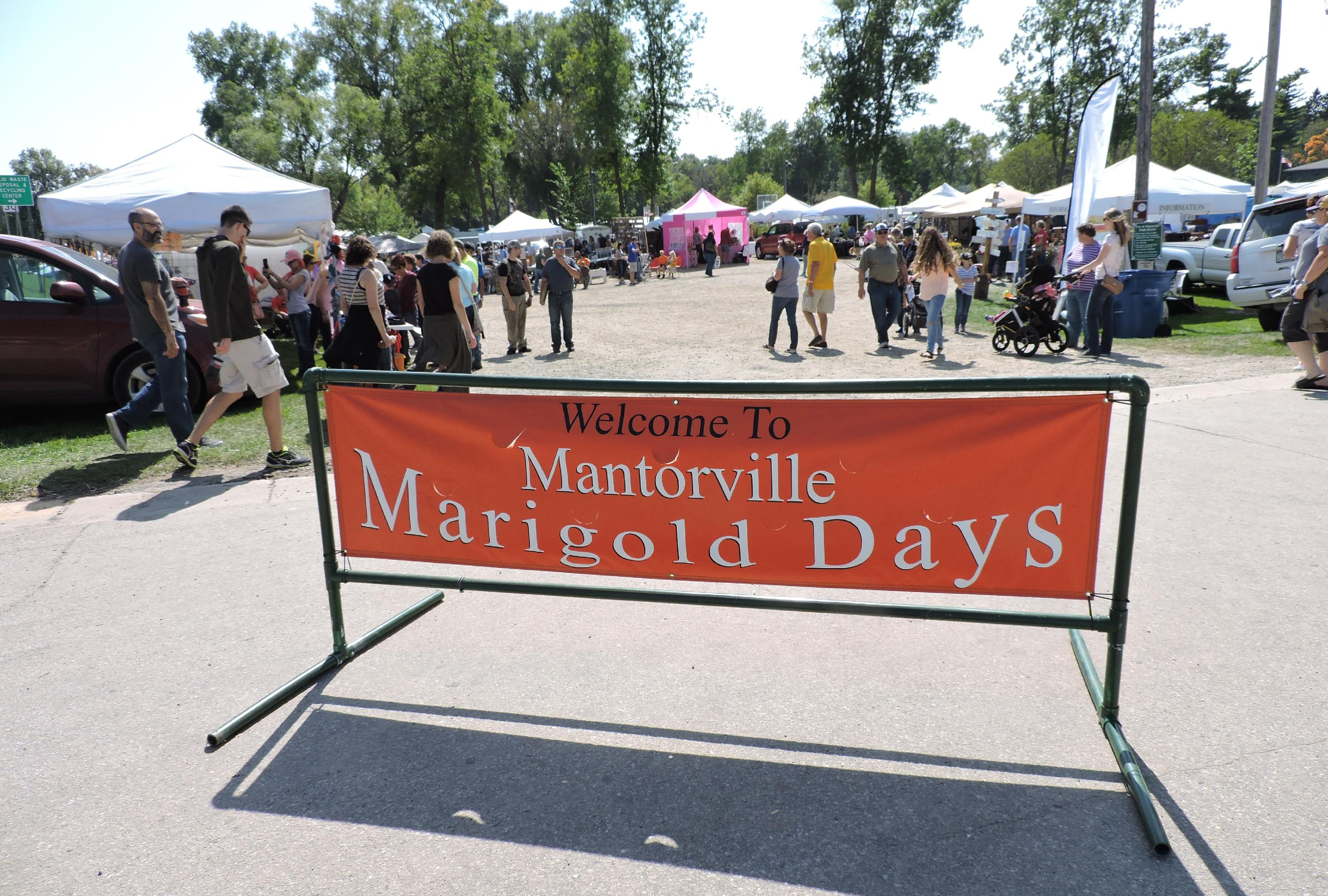 Welcome to Mantorville Marigold Days