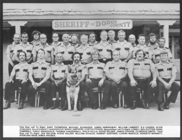DCSO 1979 Department Photo