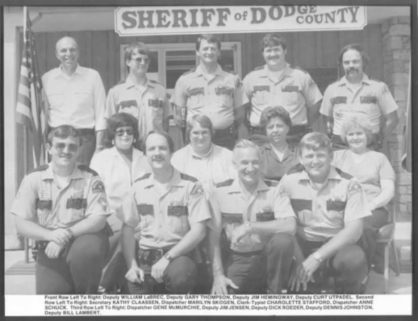 DCSO 1982 Department Photo