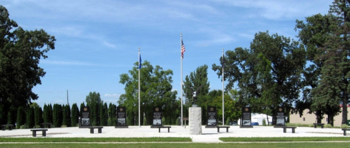 Dodge Center's Veterans Memorial