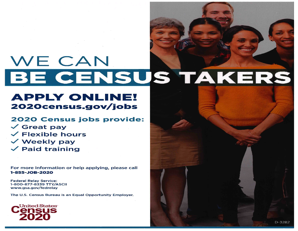 Be a Census Taker pic