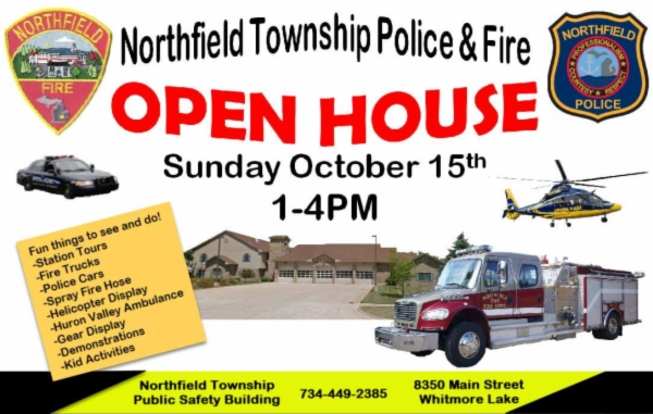 Flyer   Police and fire open house